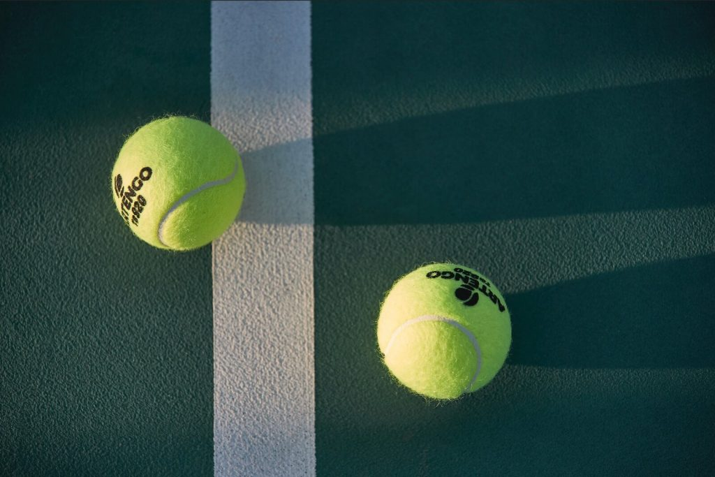 tennis ball recycled